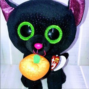 2 TY Beanie Boos - POTION the Cat